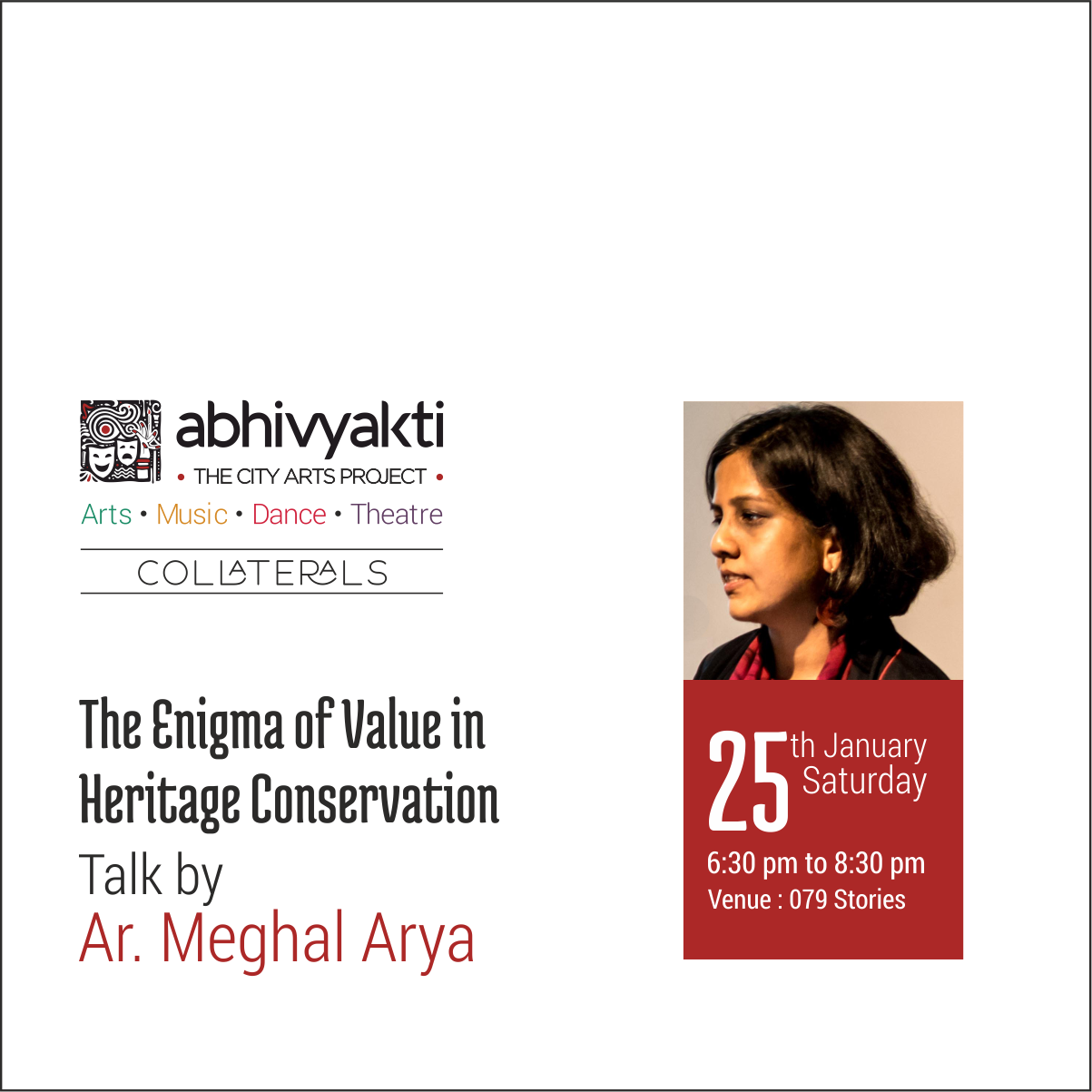 Talk by Ar. Meghal Arya : The ...