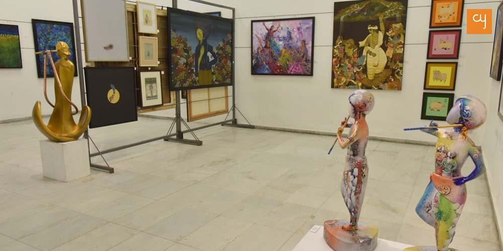 Aura Art show Krishna
