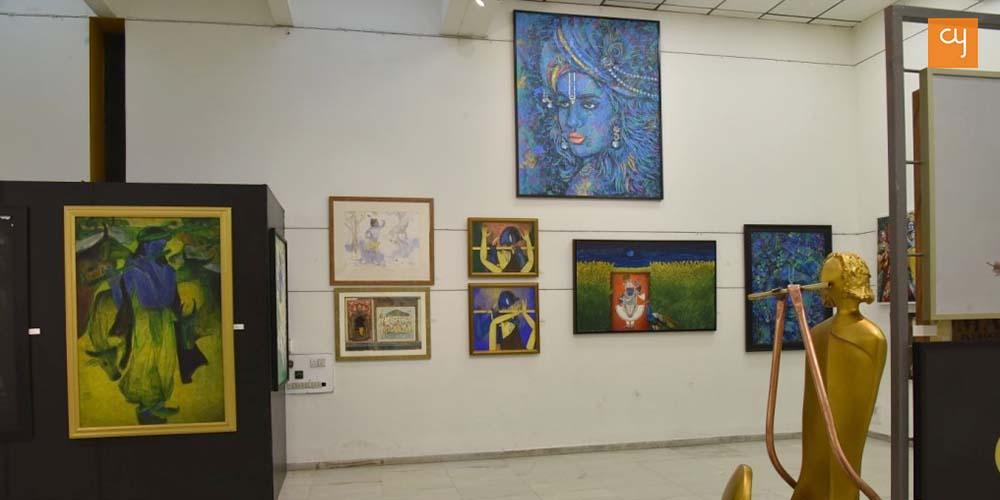 Aura Art show Krishna 3