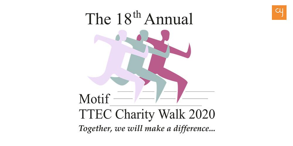 Motif charity walk