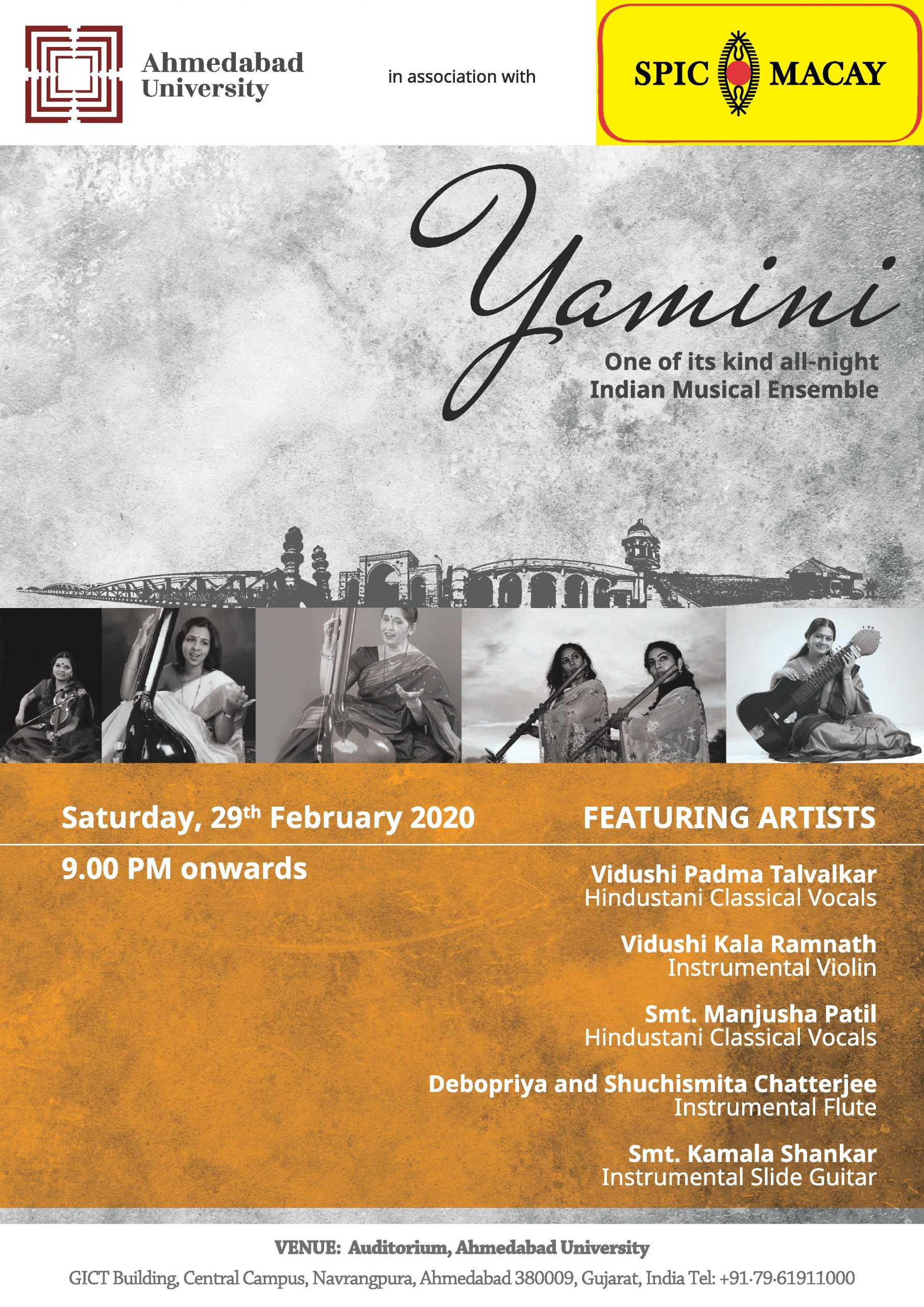 Yamini Indian Classical Music Ensemble Creative Yatra