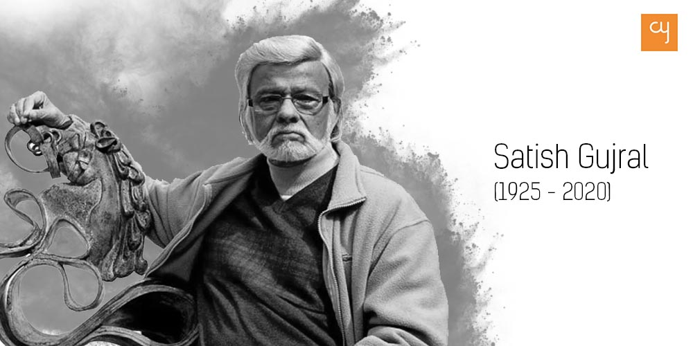 Renowned artist of post-independence era Satish Gujral passes away at 94