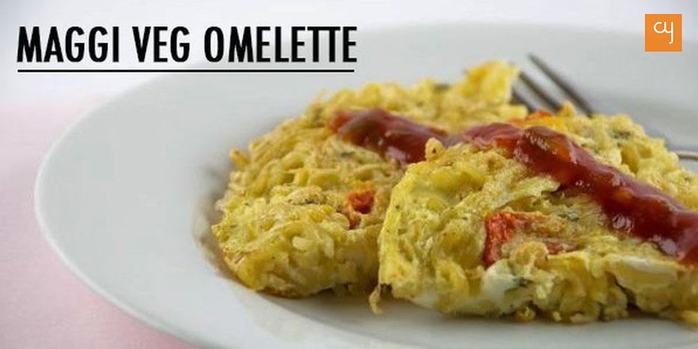 Maggi Veg Omelette