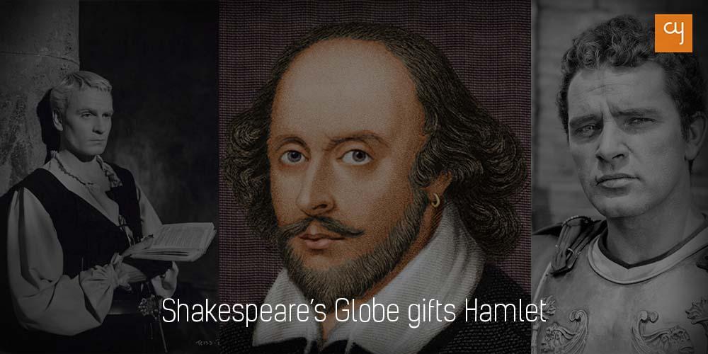 Shakespeare's Globe gifts Hamlet