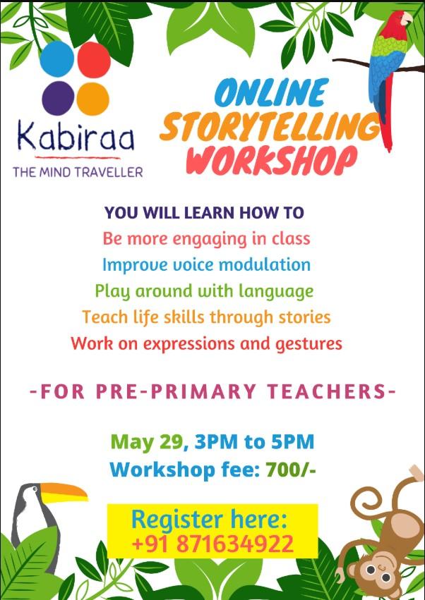 Online Storytelling Workshop