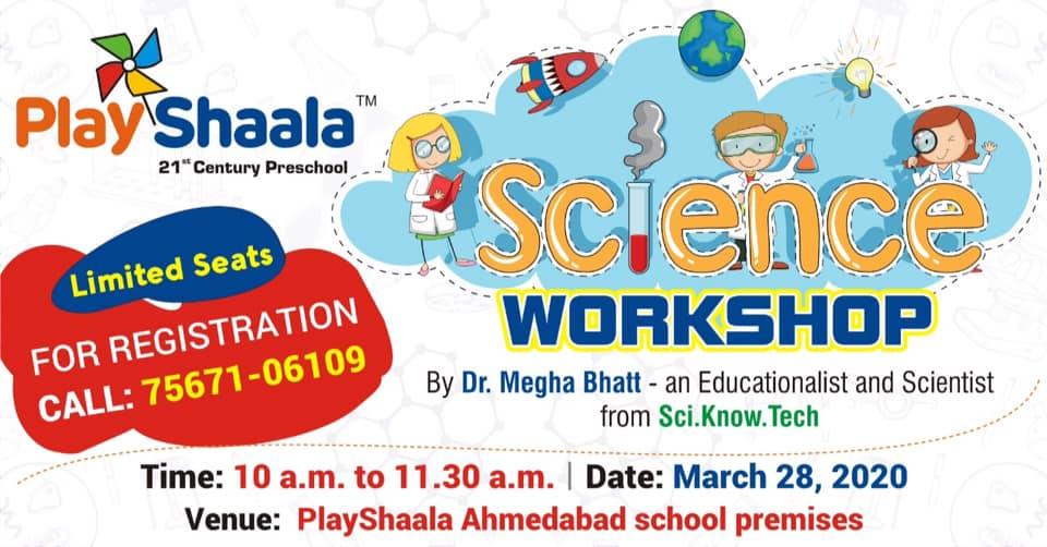 Science Workshop for Preschool ...