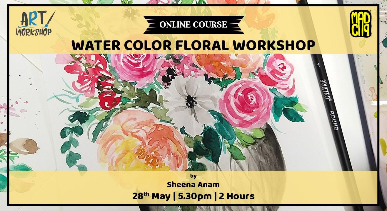 Watercolor Florals Workshop by ...