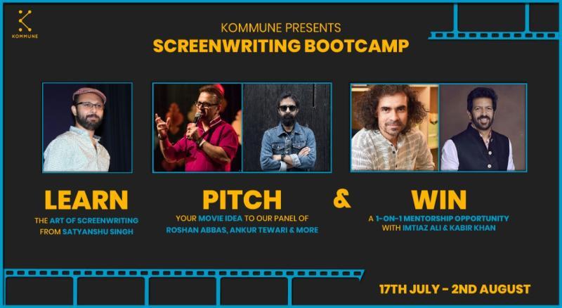 https://creativeyatra.com/wp-content/uploads/2020/07/Kommune-Presents-Screenwriting-Bootcamp-With-Satyanshu-Singh.jpg