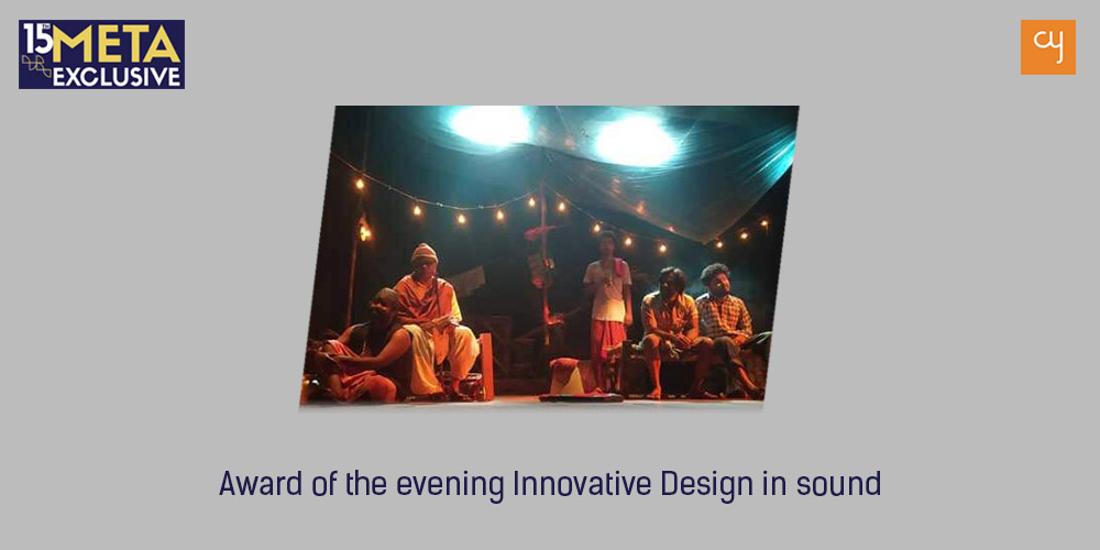 first Award of the evening Innovative Design in sound