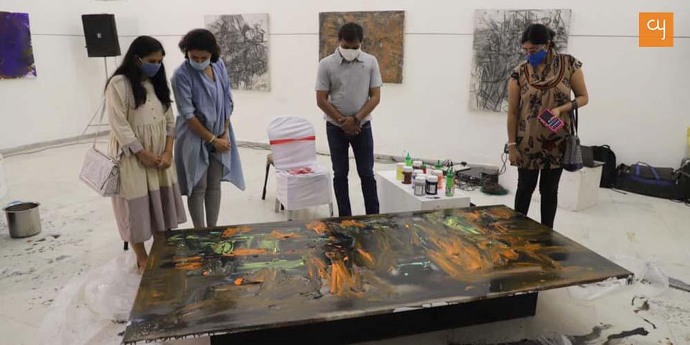 Ajay Chaudhary at Hutheesing Centre