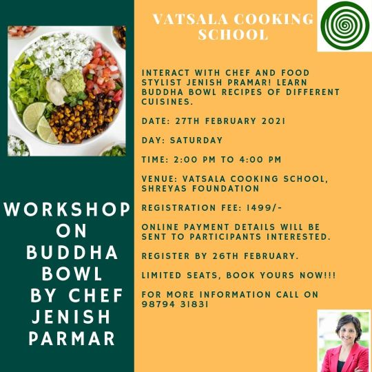 Buddha Bowl Recipe Workshop