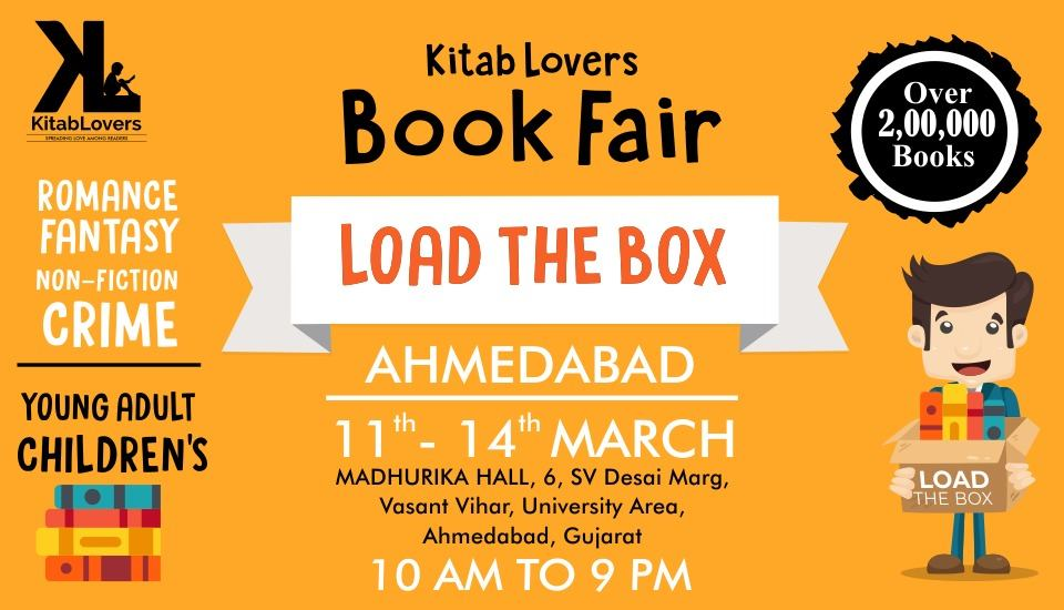 LOAD THE BOX - India's Largest Book Sale in Ahmedabad