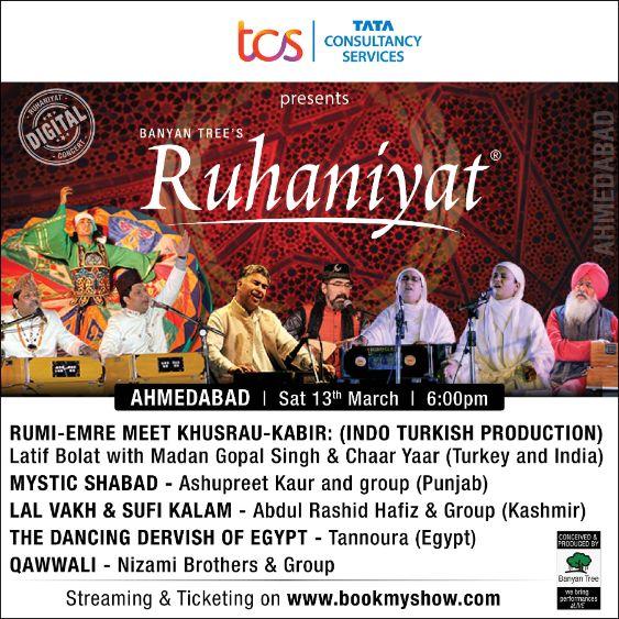 TCS Ruhaniyat Ahmedabad