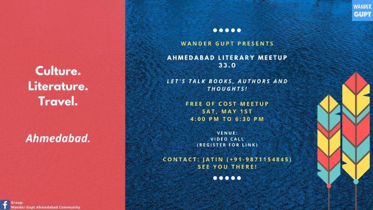 33rd Literary Meetup - Ahmedabad Melting Pot
