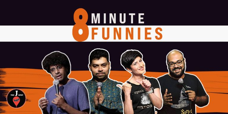8 Minute Funnies - A Standup Comedy Show