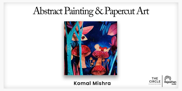 Abstract Painting and Paper-cut Art Workshop