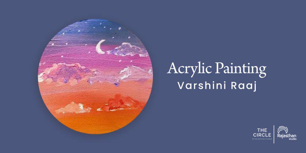 Acrylic Painting Sunset Workshop
