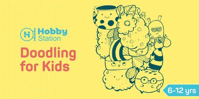 Doodling Workshop for Kids - HobbyStation