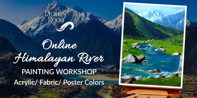 Himalayan River Painting Workshop
