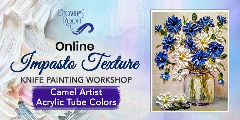 Impasto Texture Knife Painting Workshop