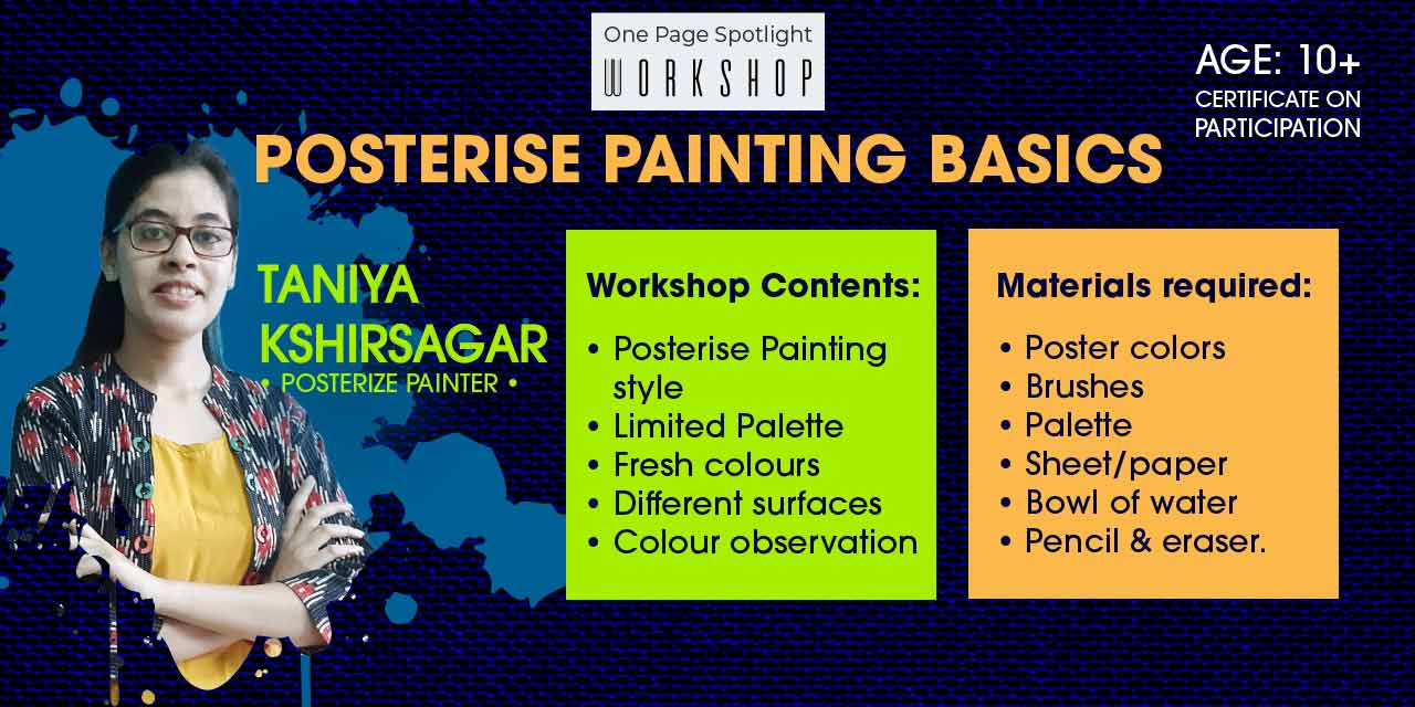 Learn Poster Painting-One Page ...