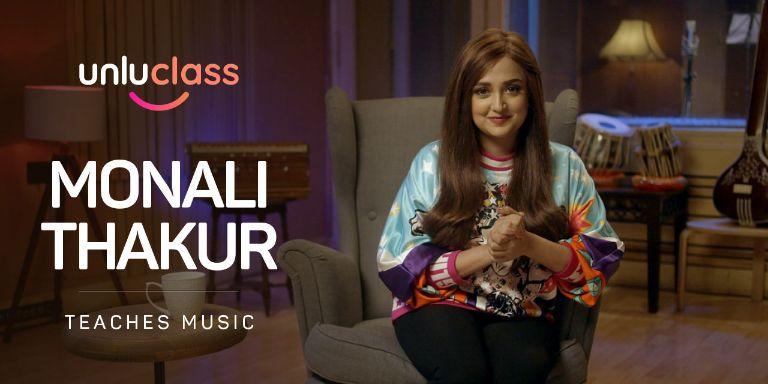 Monali Thakur Teaches Singing