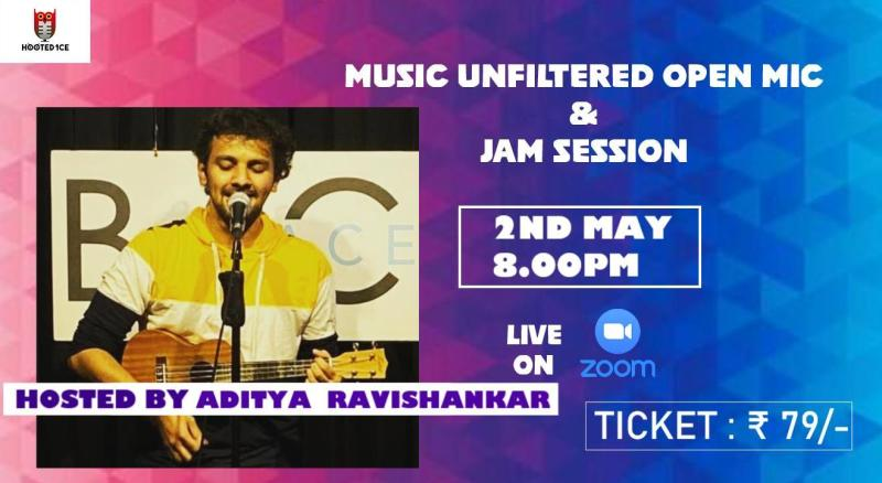 Music Unfiltered Open Mic and Jam Session ft. Aditya Ravishankar