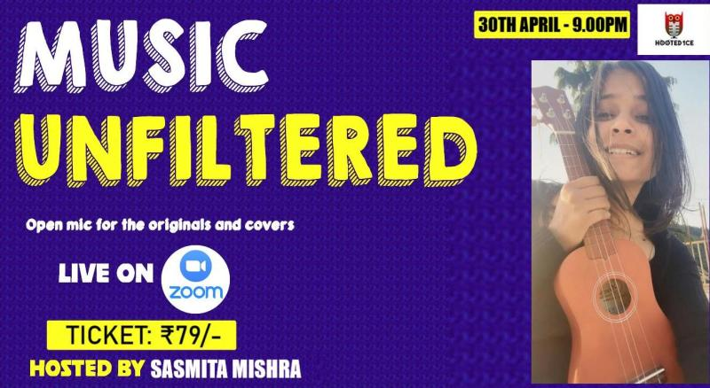 Music Unfiltered Open Mic ft. Sasmita Mishra