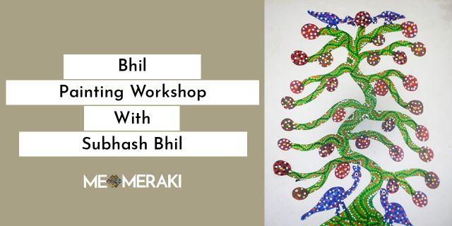Online Bhil Painting Workshop With Subhash Bhil