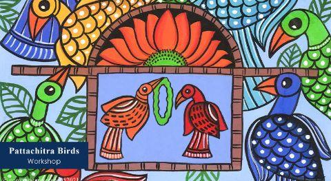 Pattachitra Birds Workshop