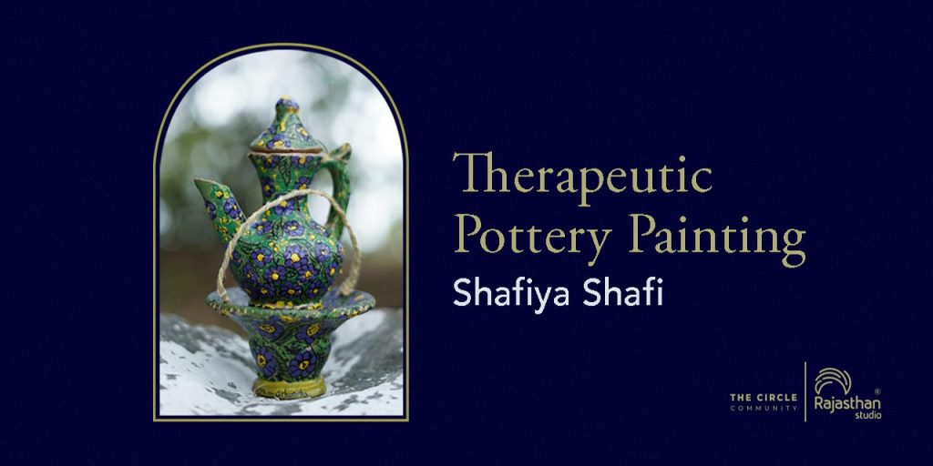 Therapeutic Pottery Painting Workshop