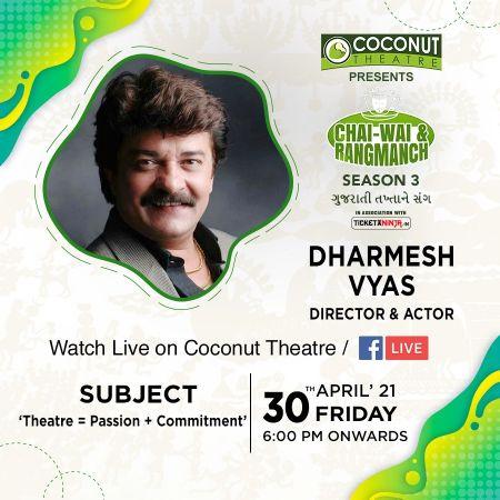 Watch Live Shri. Dharmesh Vyas