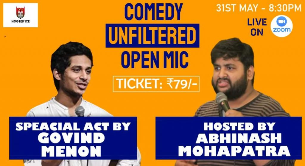 Comedy Unfiltered Open Mic ft. Govind Menon