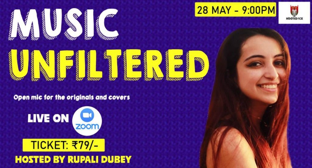 Music Unfiltered Open Mic ft. Rupali Dubey