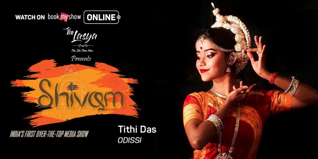 Tithi Das`s odissi By The Lasya