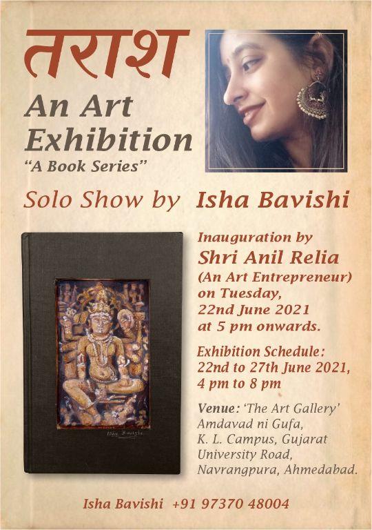 A Book Series Solo Show by Isha Bavishi
