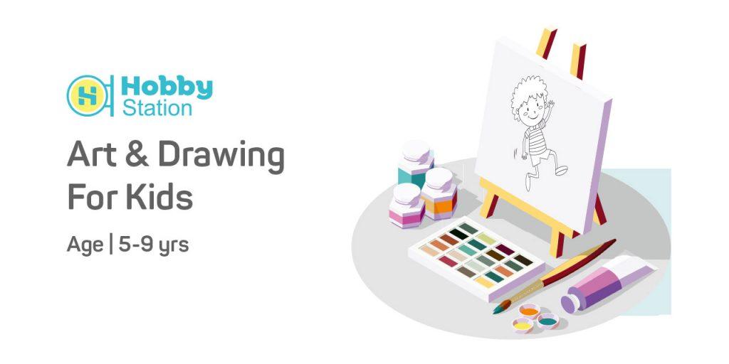 Art & Drawing - Junior Kids - Hobbystation