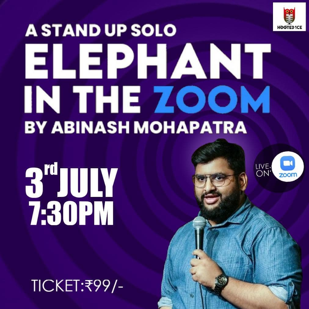 Elephant in the Zoom - A Solo Stand up by Abinash Mohapatra