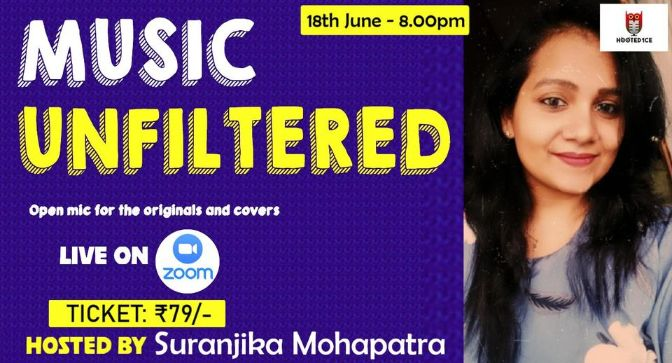 Music Unfiltered Open Mic ft. Suranjika Mohapatra