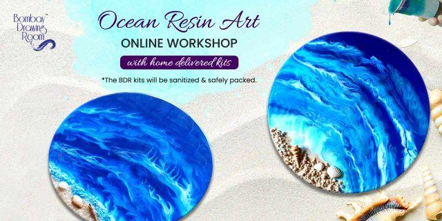Ocean Resin Art Workshop with Kits