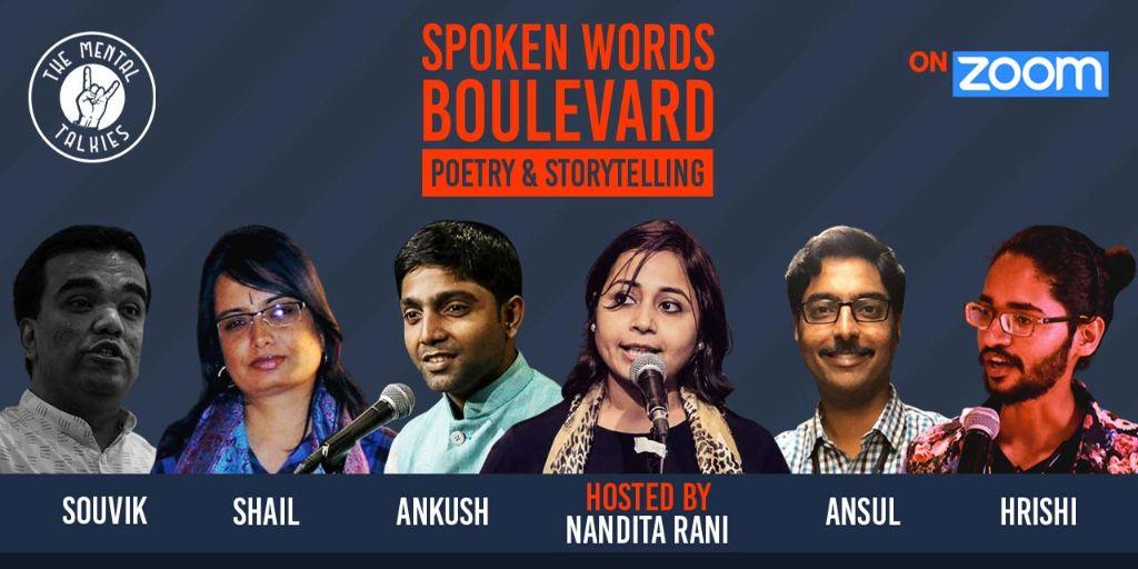 Spoken Words Boulevard-Poetry and Storytelling