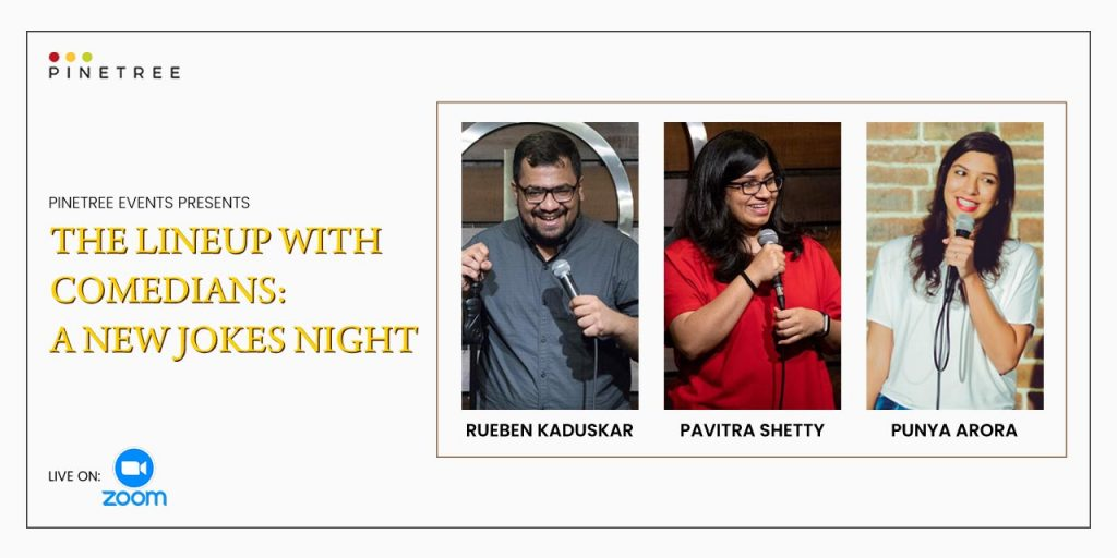The Line-up with Comedian - A New Jokes Night