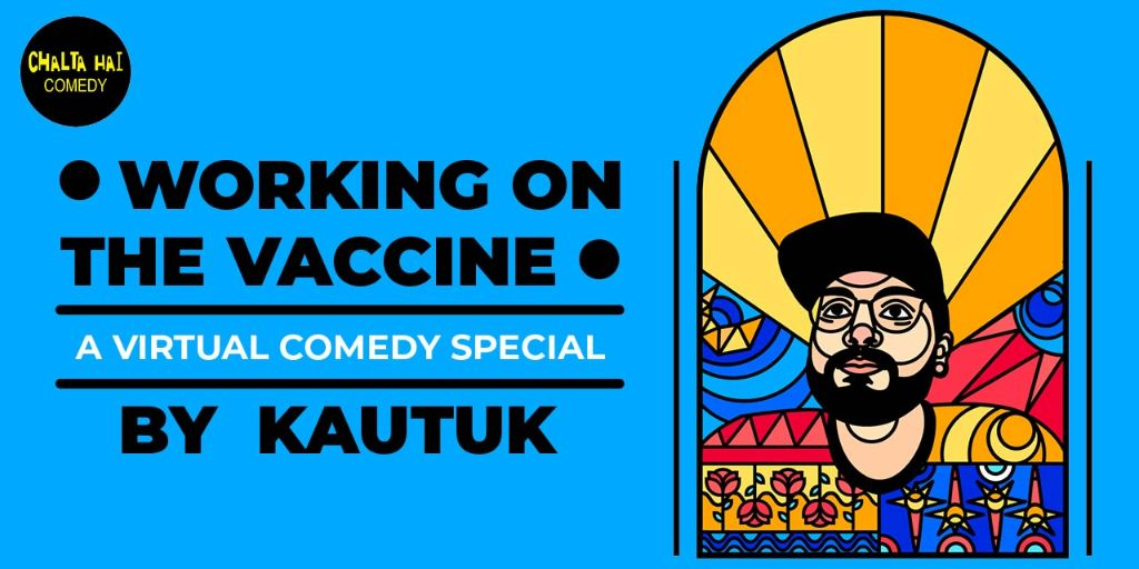 Working On The Vaccine by Kautuk Srivastava