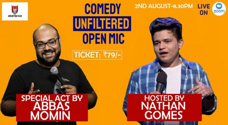 Comedy Unfiltered Open Mic ft. Abbas Momin