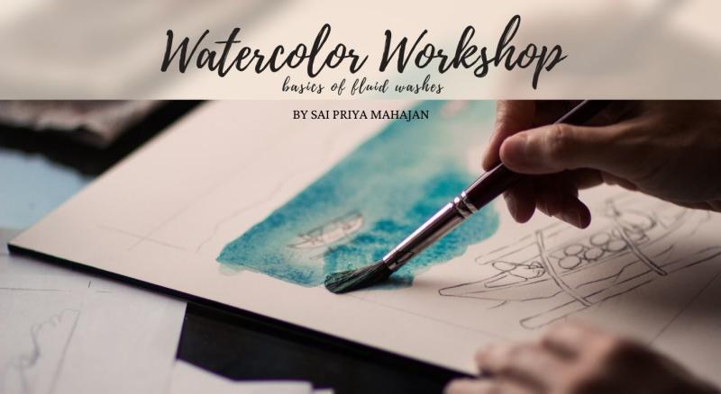 Immersive Fluid Watercolors Workshop
