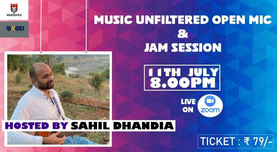 Music Unfiltered Open Mic and Jam Session ft. Sahil Dhandhia