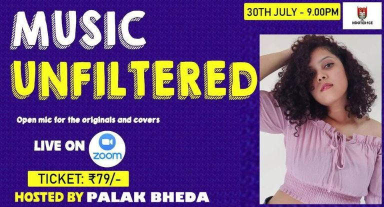 Music Unfiltered Open Mic ft. Palak Bheda