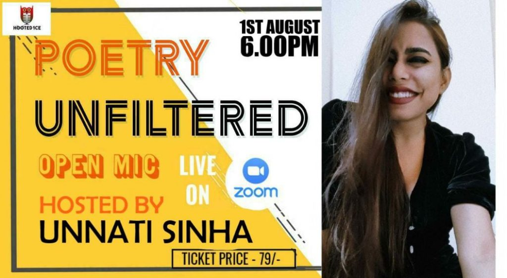 Poetry Unfiltered Open Mic ft. Unnati Sinha