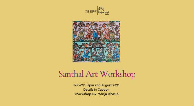 Santhal Art Workshop by The Circle Community