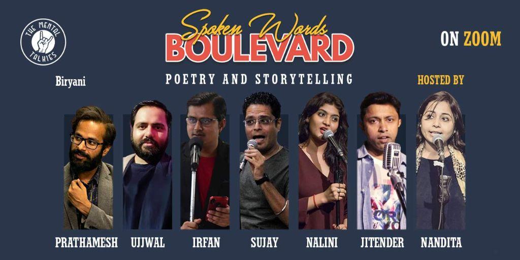 Spoken Word Boulevard-Poetry and Storytelling
